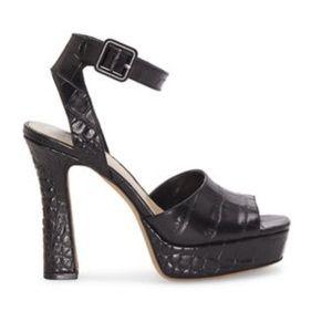 NEW Vince Camuto Black Platform Heels